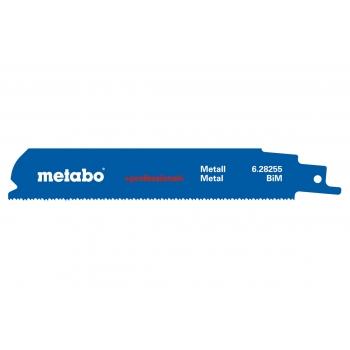 Полотно для сабельных пил METABO, BiM 150x1,1/1,4+1,8 мм, 5 шт. (628255000)